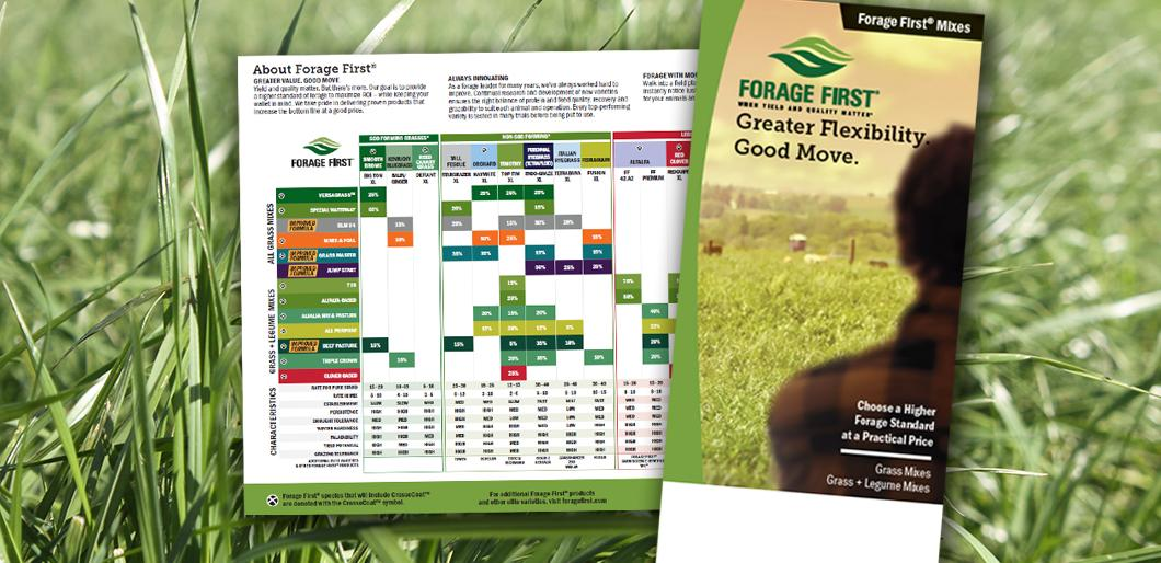 Forage Brochures Available from La Crosse Seed